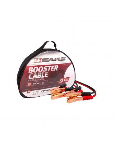 4CARS Startovací kabely 600amp, 6.0mm², 4m