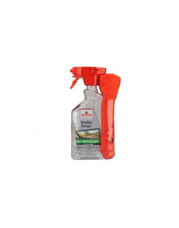 NIGRIN Glass cleaner + nicotine remover + cloth