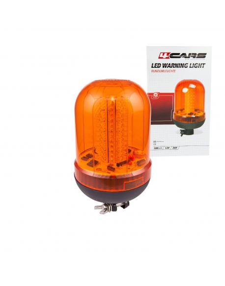 4CARS Vícefunkční výstražné světlo 12/24V 100 LED