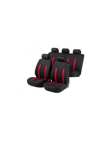 Walser autopotahy Hastings - červeno černé