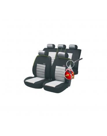 Walser autopotahy SportSpeed Zipp-It - šedo černé